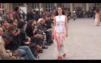 Papillon sur robe-Impasse de la défense Karim Bonnet-Collection 2009